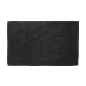 Černá koupelnová předložka Galzone 80x50 cm