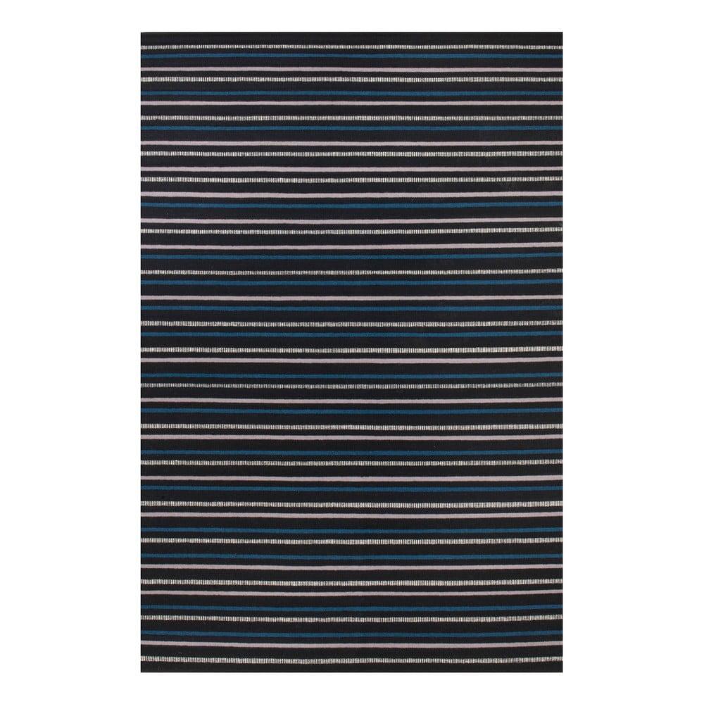 Ručně tkaný vlněný koberec Linie Design Camel, 140 x 200 cm