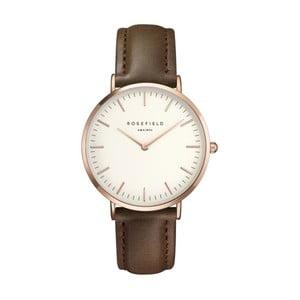 Bílohnědé dámské hodinky Rosefield The Bowery