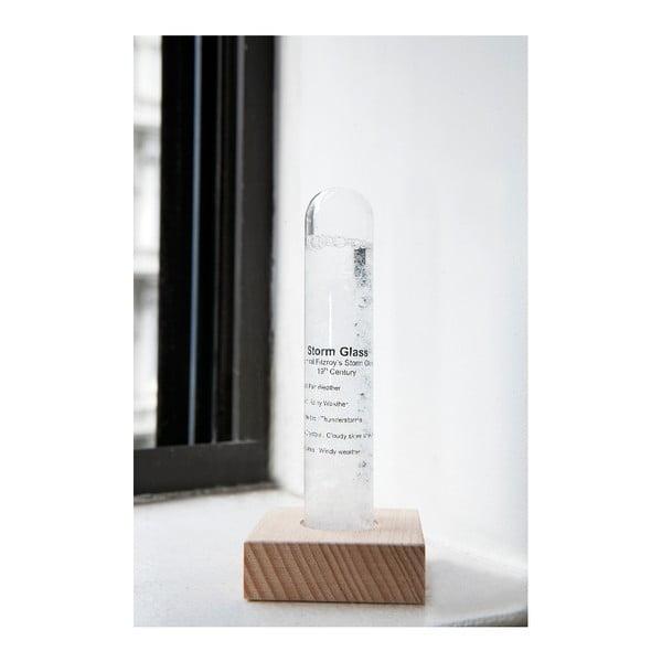 Meteorologický búrkový pohárik Kikkerland Strom Glass