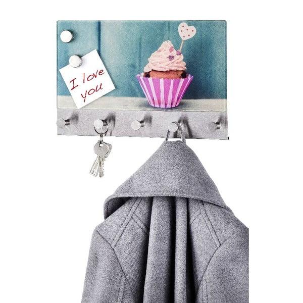 Magnetický věšák na kabáty Wenko Cupcake