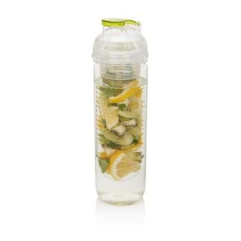 Sticlă cu sită XD Design Trita 500 ml, verde de la XD Design