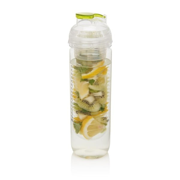 Sticlă cu sită XD Design Trita 500 ml, verde