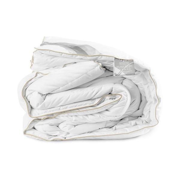 Celoroční peřina plněná husím peřím Velvet, 240x200 cm