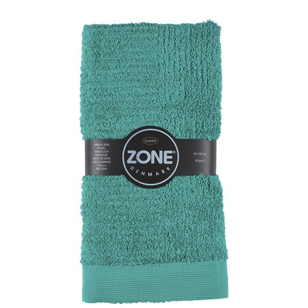 Zelený ručník Zone Classic 100x50 cm