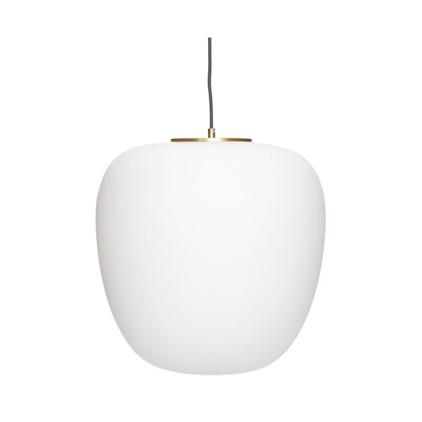 Luno fehér függőlámpa - Hübsch