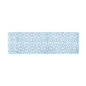 Modrý běhoun Hanse Home Magic Ornament, 50x150cm