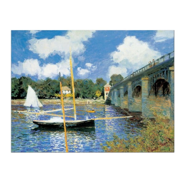 Claude Monet - Most v Argenteuil