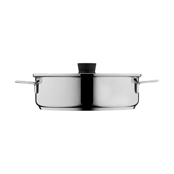 Oală din oțel inoxidabil pentru gătit pe aburi WMF Cromargan® Aroma, ⌀ 28 cm