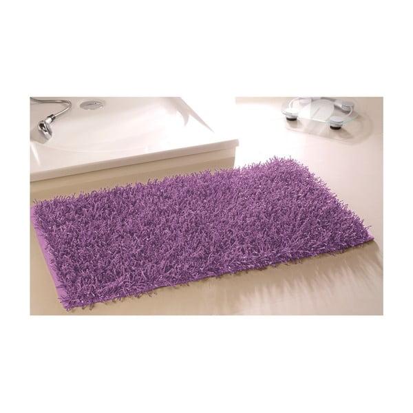 Koupelnová předložka Metallic Look Violet, 60x100 cm