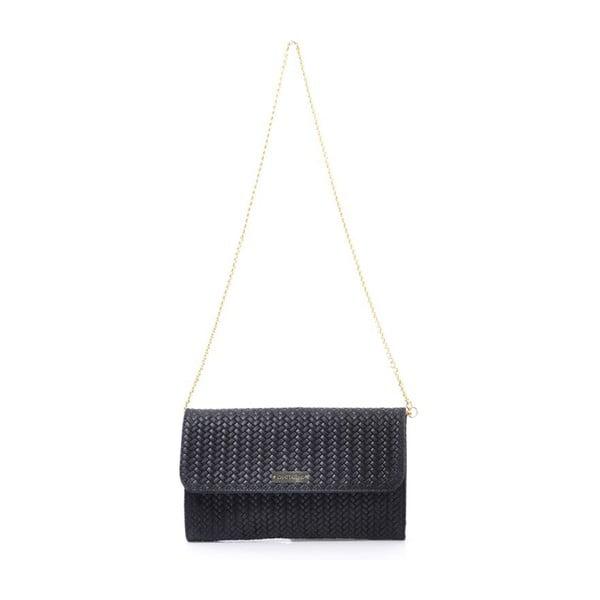 Kožená kabelka Yaelle, černá