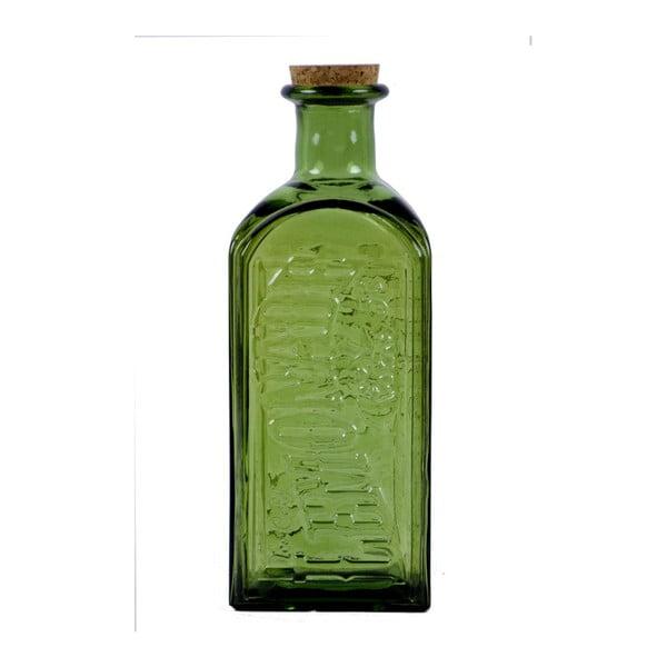 Zelená lahev s korkovým uzávěrem Ego Decor, 2 l