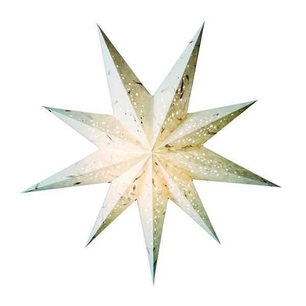 Dekorativní hvězda Spumante White, 60 cm