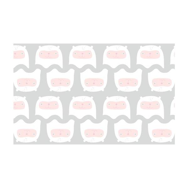 Vliesová tapeta Happy kittens 270x46.5 cm, šedá
