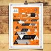 Plakát Autumn, 41x30 cm