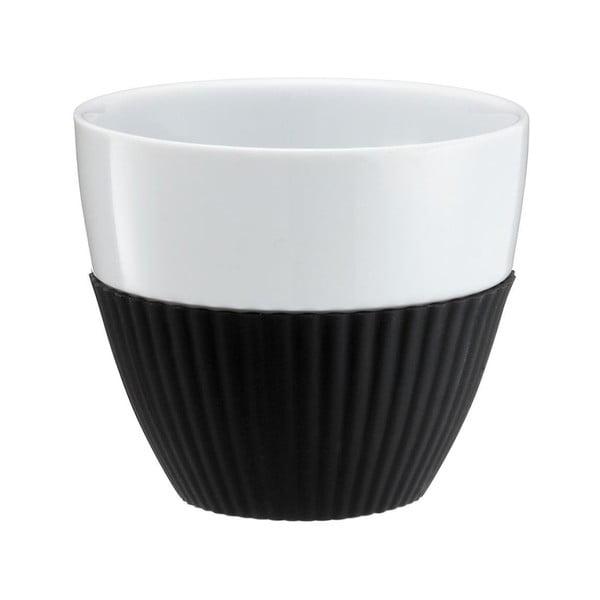 Hrnky na kávu Anytime, černé, 2 ks