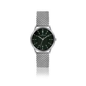 Unisex hodinky z nerezové oceli s černým ciferníkem Frederic Graff William