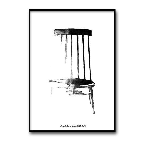 Autorský plakát Pinnstol, 50x70 cm