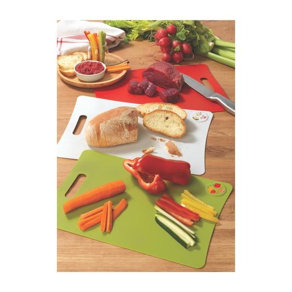 Sada 3 prkýnek na zeleninu, pečivo a maso Snips Cutting