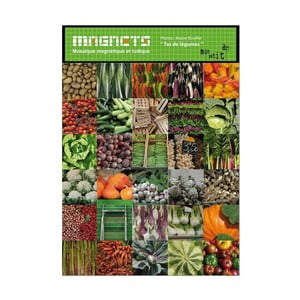 Sada 30 magnetů Mon Petit Art Carrés de Légumes