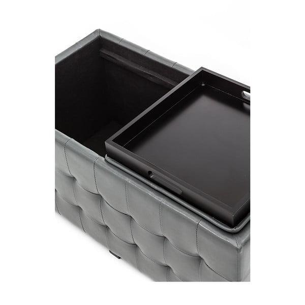 Lavice s úložným prostorem Tomasucci Dizz, šedý