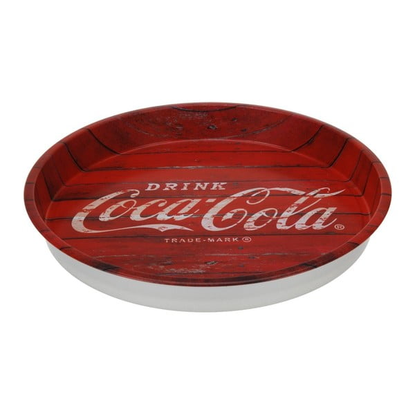 Kulatý podnos Postershop Coca-Cola