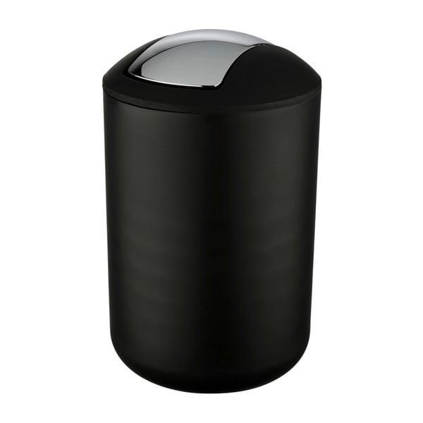Brasil L fekete szemetes, magasság 31 cm - Wenko