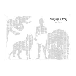 Knižní plakát Kniha džunglí, 100x70 cm