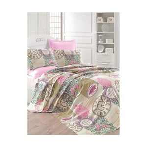 Lehký přehoz přes postel Misteral Pink,200x235cm