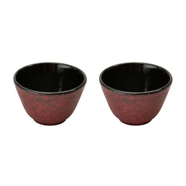 Set 2 kalíšků na čaj Red