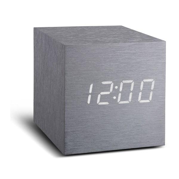 LED budík Click Clock Maxi White