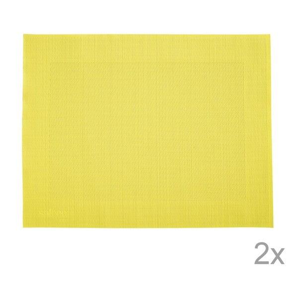 Sada 2 prostírání Saleen Yellow, 30x40 cm
