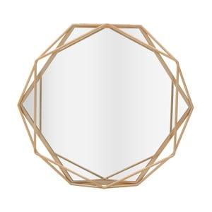 Nástěnné zrcadlo s detaily ve zlaté barvě InArt Beyhive Round