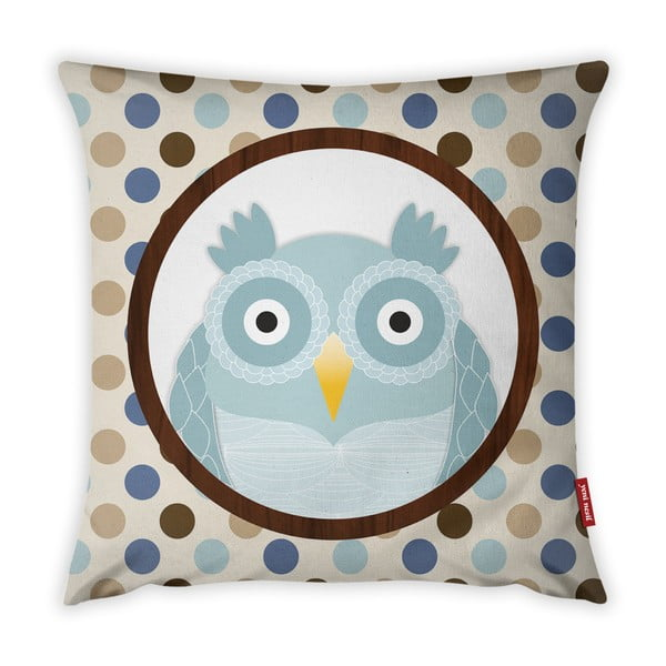 Povlak na polštář Vitaus Azul Owl, 43 x 43 cm