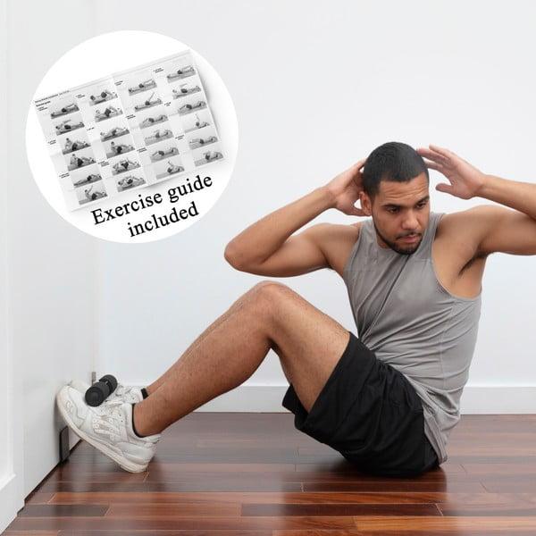 Bară de fixare pe uși pentru abdomene cu ghid de exerciții InnovaGoods