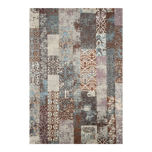 Modrý koberec Naturalis, 135x200cm