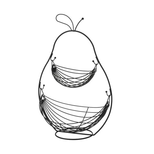 Dwupoziomowy kosz na owoce Unimasa Metalo