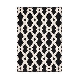 Černobílý koberec Kayoom Stella Schwarz Weich, 160x230cm