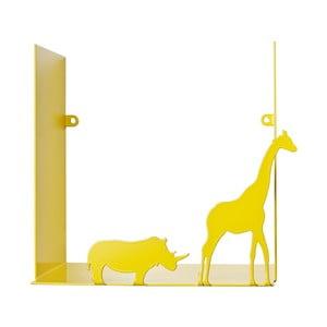 Závěsná polička Safari, žlutá