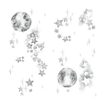 Set autocolante de perete Dekornik White Universe de la Dekornik