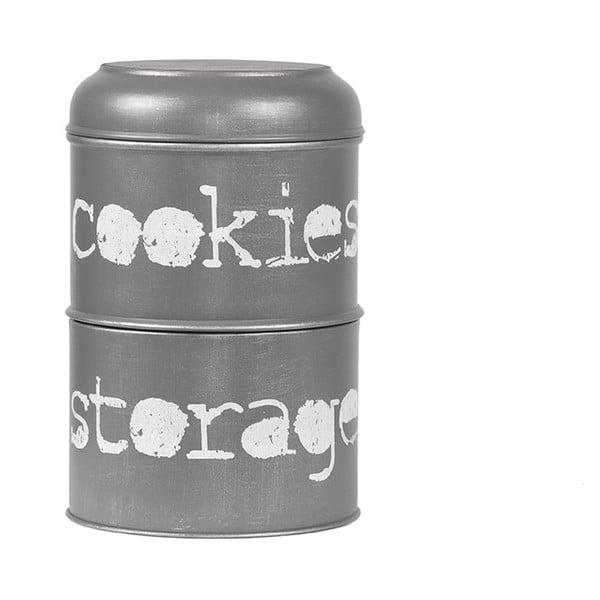 Kovová dóza LABEL51 Cookies, ⌀16cm