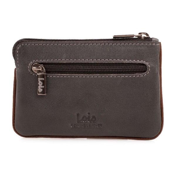 Kožená peněženka na drobné Lois Mood, 11x7 cm