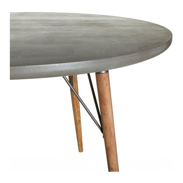 Jídelní stůl Grey Board, 120x120x75 cm