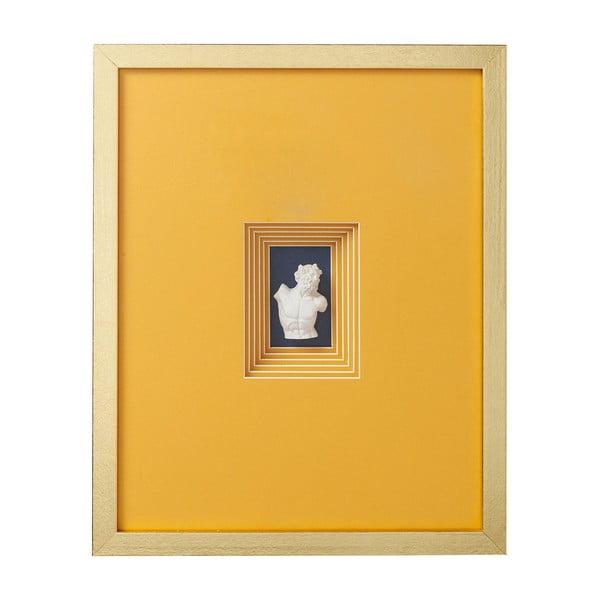 Nástenná dekorácia Kare Design Ancient Bust IV., 50 x 40 cm