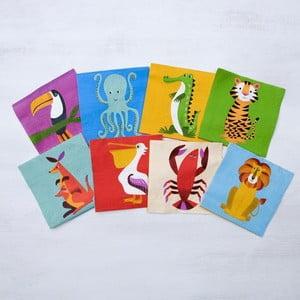 Set 20 șervețele Rex London Colourful Creatures