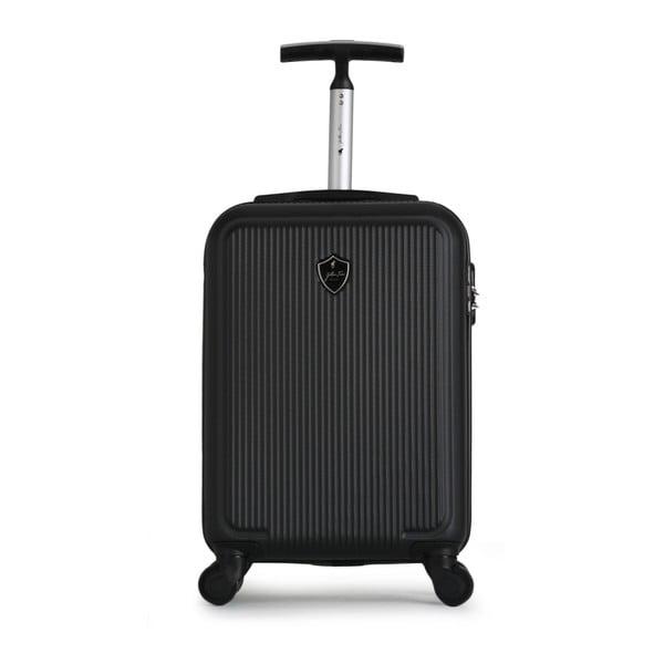 Černý cestovní kufr na kolečkách GENTLEMAN FARMER Marbo Valise Cabine, 37 l