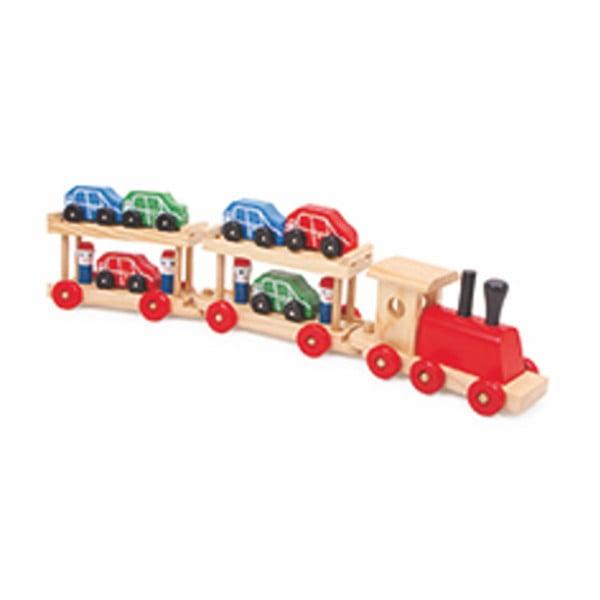 Pociąg z 12 wagonami Legler Motorail
