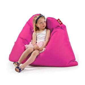 Růžový sedací vak Tuli MiniSofa