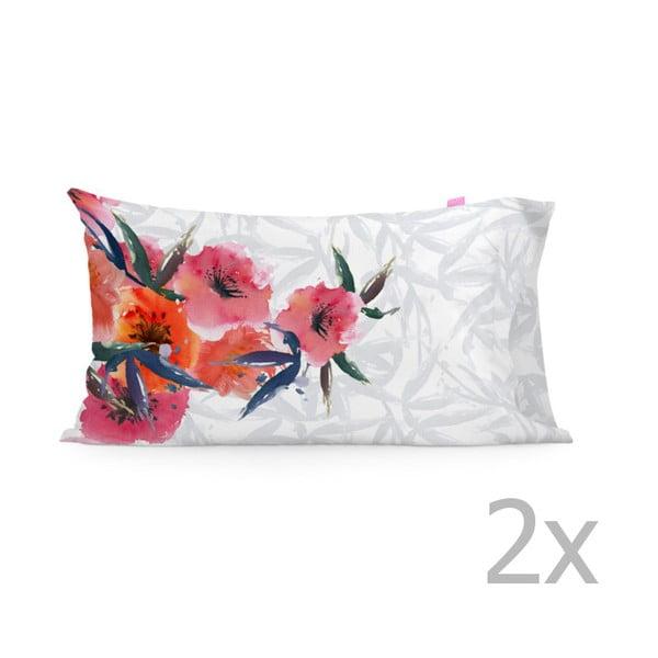Sada 2 povlaků na polštář Happy Friday Flora,50x80cm