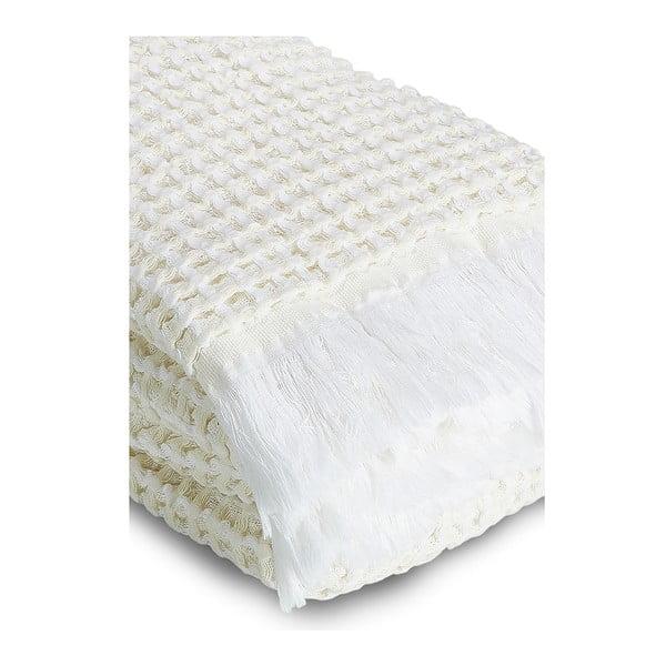Sada 2 krémových vaflových ručníků Casa Di Bassi,65x100cm
